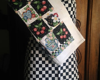 New Vintage Mary Engelbreit Apron and Towel