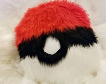 Faux Fur Fabric Inspired Pokemon Pillow