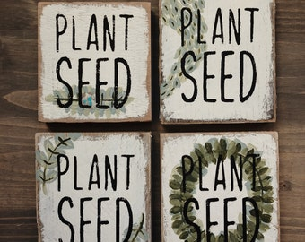 PLANT SEED - Seed Signs Magnet