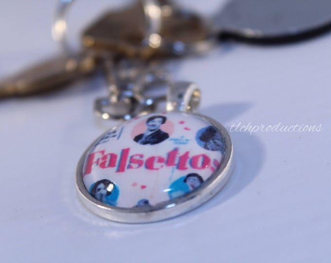 Newsies - Hamilton - Wicked - Broadway - Glass Dome Pendant Keychain