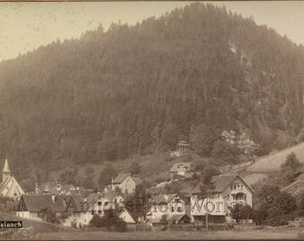 Teinach mountain hotel Germany antique cabinet photo