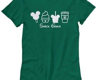 Disney Snack Goals Mickey Starbucks Dole Whip Shirts for Women Shirt