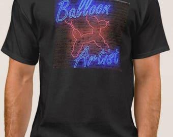 Balloon Artist in Neon T-Shirt