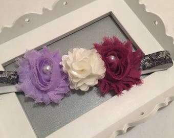 Headband/purple headband/12m headband