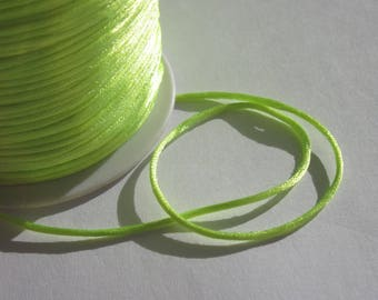 1 meter wire knotting color neon yellow 1 mm approximately (32)