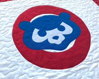Canadian Hockey Quilt Sports Quilt Crib Baby Quilt