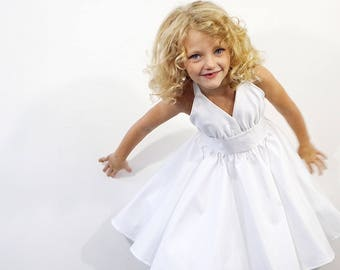 Toddler Marilyn Monroe White Dress