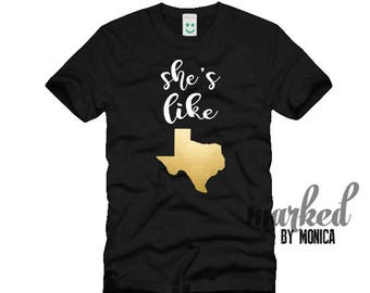She's like Texas, Texan, Texas+Strong,T-shirt Design,svg,dxf,eps,Files Electronic Cutting Machines,Silhouette,Cameo,Cricut,Instant Download