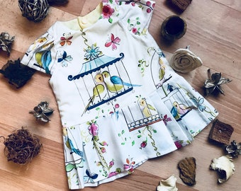 Age Two & Newborn - Birdcage Dresses