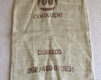 Jute Burlap Coffee Bean Sack