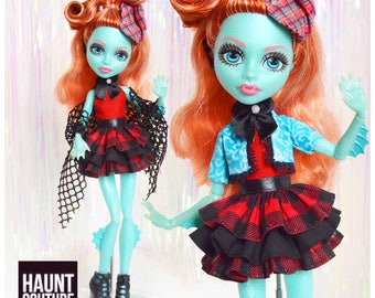 """Monster Doll Haunt Couture 2017 """"Seaside Sighting"""" high fashion doll clothes 