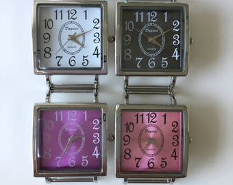Ribbon Watch Faces for Double Stranded Beaded Watch Bands (MSQ)