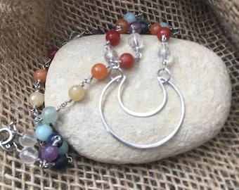 Chakra Beaded Necklace