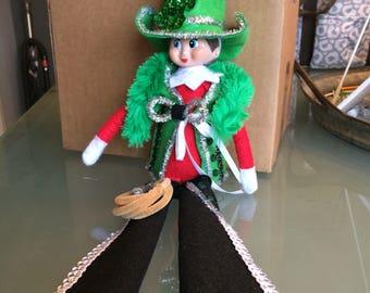 Leprechaun Cowboy Elf Costume