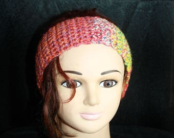 wool crochet headband
