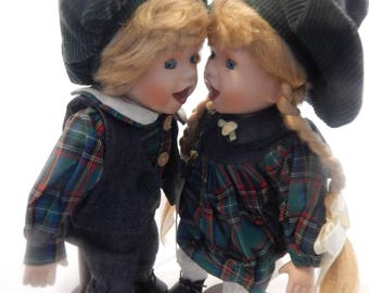 Camelot Handcrafted Maureen and Mark Dolls