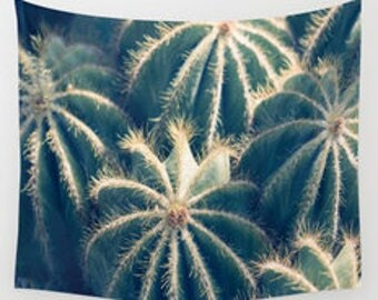 cactus wall tapestry, cactus wall art, cactus photography, dorm decor, desert tapestry, cactus decor, wall tapestries, southwestern decor