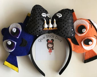 Finding Nemo inspired Mouse Ears