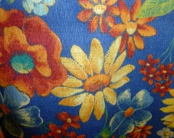 floral cobbler apron