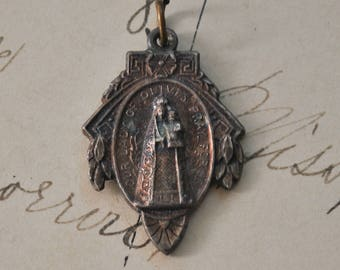 Antique Our Lady of Olives Charm