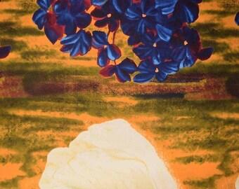 Floral Una's Garden Fabric Panel Stephanie Brandenburg Art Work - Conversations -  Frond Design Studio Free Post