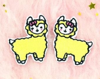 Alpaca Hair Accessories / Hair Bows For Girls / Kawaii Hair Accessories / Cute Hair Accessories / Kids Hair Accessories / Gifts For Girls