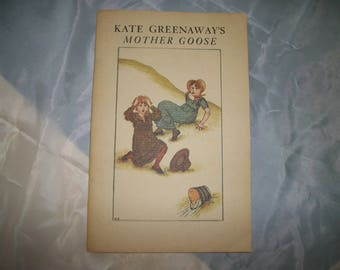 Kate Greenaway's Mother Goose and Old Nursery Rhymes book