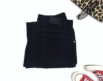 "Lee black jeans w27"" sz12,Vintage highwaisted mom jeans"