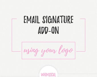 Email Signature - Add on