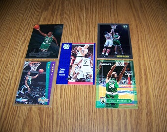 25 Boston Celtics Basketball Cards