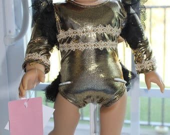 Black and Gold Tap Outfit