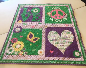 Girl Scout quilt