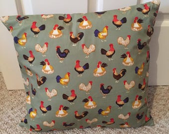Cockerell printed cushion