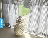 Father's Day 14% off Ends 6/18 Cafe Curtains, Ticking Striped, Curtains, Classic Stripe, Kitchen Curtains, Window Treatments, Kitchen Decor,