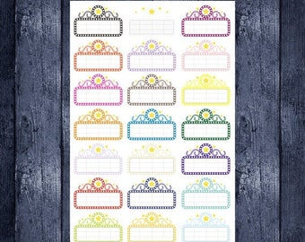 Weekend Sale Movie Marquee stickers for your erin condren life planner, happy planner, filofax, kikki k or any planner