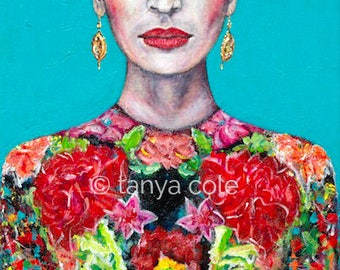 Frida's Courage Limited Edition Large Fine Art Print