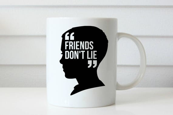 STRANGER THINGS mug eleven coffee mug friends dont lie stanger things show coffee mug coffee cup netflix gift gifts for him gifts for her