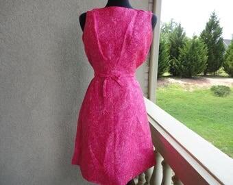 Lanz Original Pink Paisley Dress