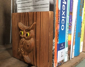 Four Owl Bookends