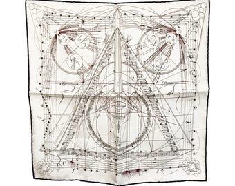 Hermes La Musique Des Spheres by Zoe Pauwels Scarf