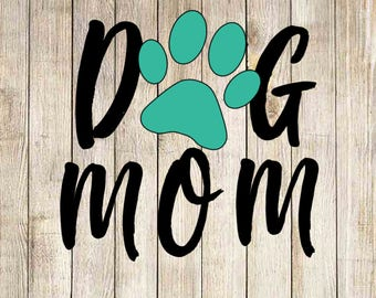 Dog Mom Decal, Yeti Decal