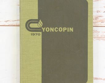 1970 Yoncopin Centenary College Shreveport, LA Yearbook Annual Volume 45