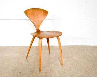mid century chair danish modern chair mid century modern norman cherner for plycraft molded