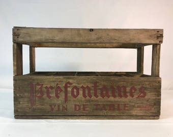 Prefontaine Wine Crate