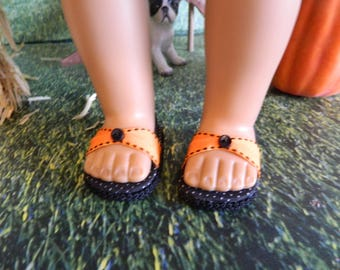 """Doll shoes for 18"""" American Girl doll or similar 18"""" doll"""