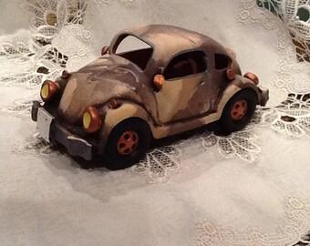 Ceramic VW Volkswagen Bug Beetle Car