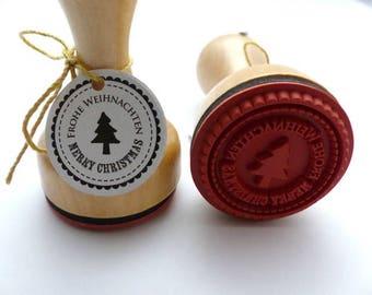 Stamp Merry Christmas Merry Christmas Tree