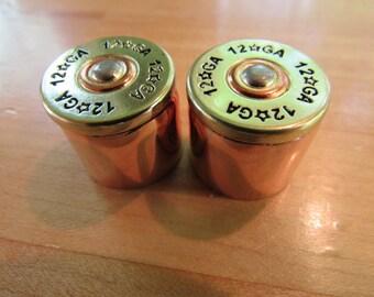 Shot Gun shell Guitar volume and control knobs.