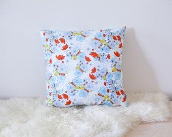 Autumn meadow cushion