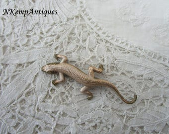 Lizard brooch 1930's